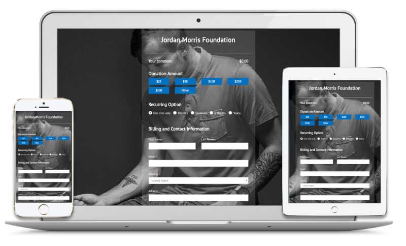 Our online fundraising platform is flexible, mobile, and a fraction of the cost.