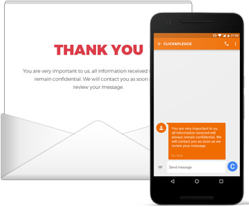Email & SMS automated messaging