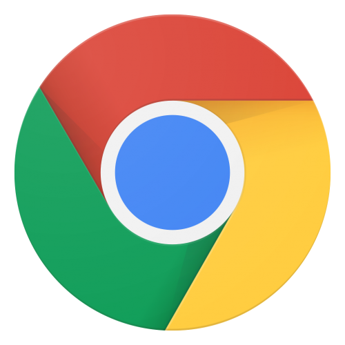 Google Chrome logo, retrieved February 2017