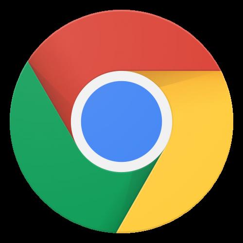 Google Chrome logo, retrieved February 2017