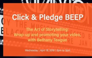 Video Storytelling Class #4: How To Promote Your Video
