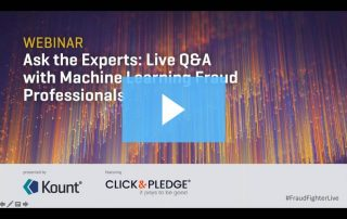 Ask the Experts: Live Q&A with Machine Learning Fraud Professionals