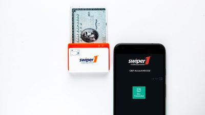 Swiper1 is the only mobile credit card reader designed for nonprofits.