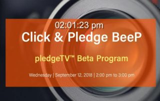 BeeP on Facebook Live: The pledgeTV™ Beta Program