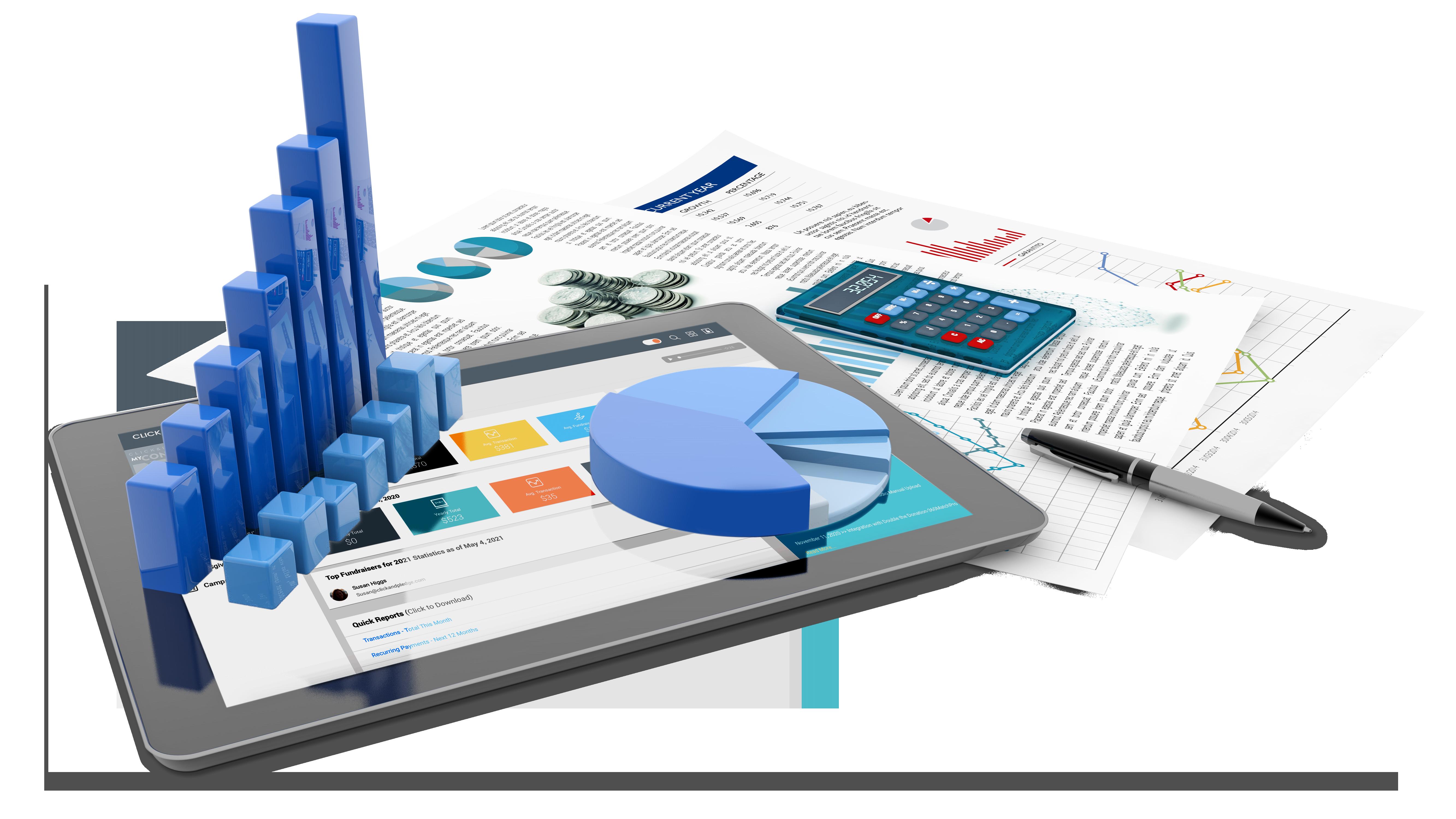 View prebuilt reports to monitor important metrics