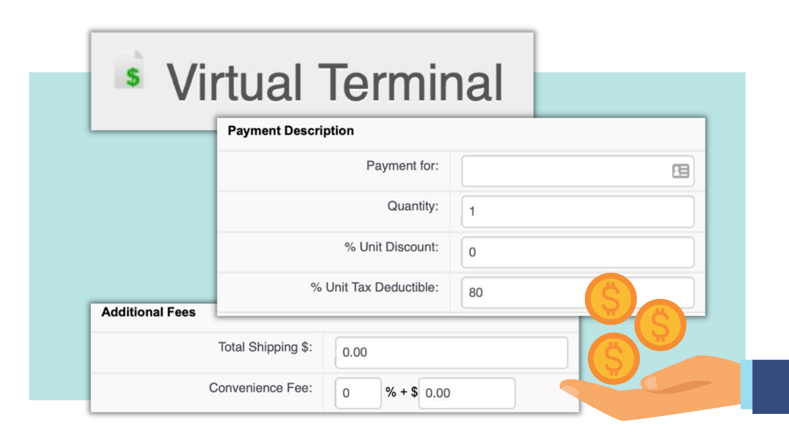 Donor Management with Salesforce® using Virtual Terminal